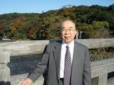 宇治橋の上での一枚。舩井会長も生前お伊勢さんが大好きでした.jpg
